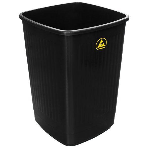 ESD-Abfallbehälter, ohne Deckel, 50 l