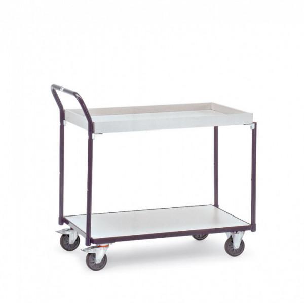 ESD-Tischwagen mit 1 Kasten und 1 Boden