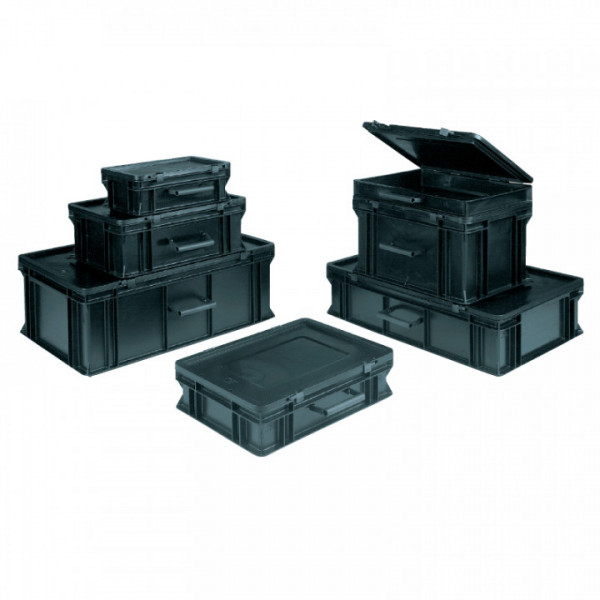 Koffer BLACKLINE, Außen 400 x 300 x 221 mm