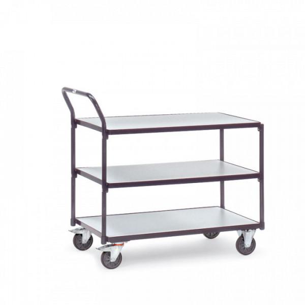ESD-Tischwagen mit 3 Böden