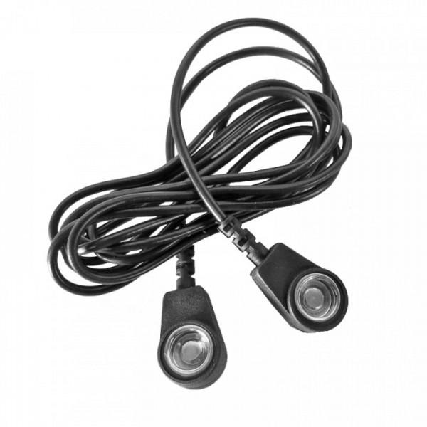 Erdungsleitung DK10-DK10, Kabel 1,50 m | ESD-Protect