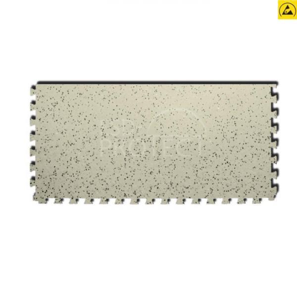 EP0502026 Gerflor ESD-Zugangsfliese GTI EL5 ACCESS beige 0353 mit Schwalbenschwanz-Verzahnung