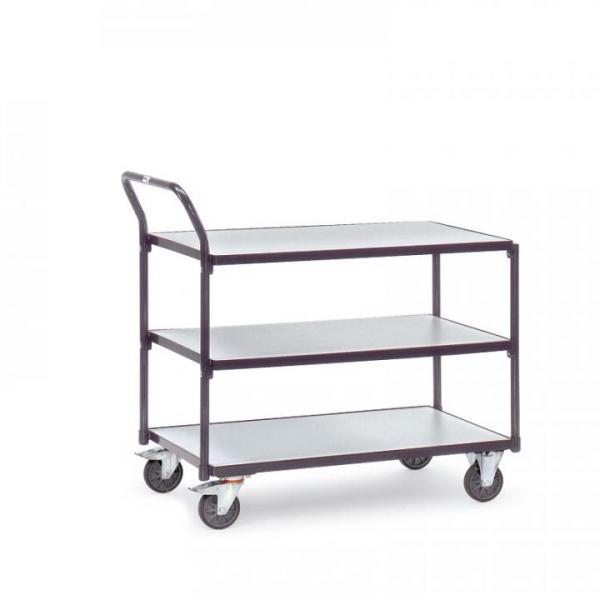 EP0806019 ESD-Tischwagen mit 3 Boeden