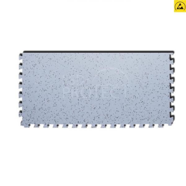 EP0502023 Gerflor ESD-Zugangsfliese GTI EL5 ACCESS grau 0352 mit Schwalbenschwanz-Verzahnung