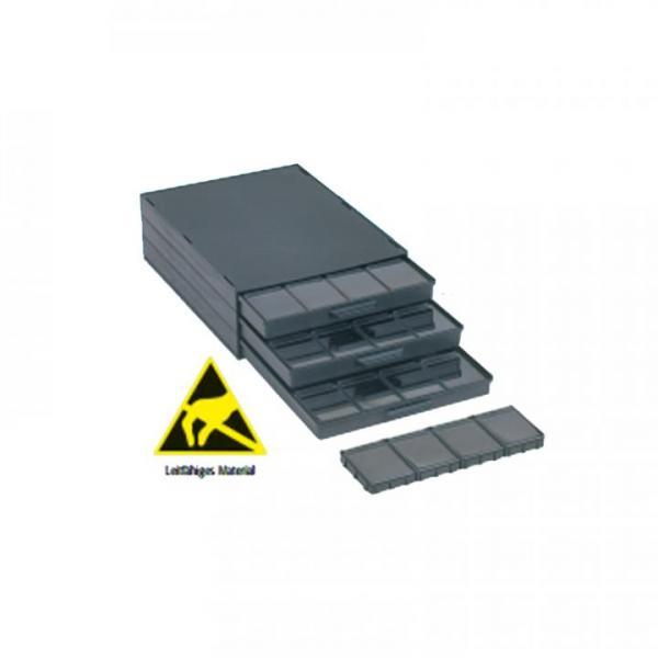 EP0710045 Komplettschraenke schwarz mit SMD Klappboxen