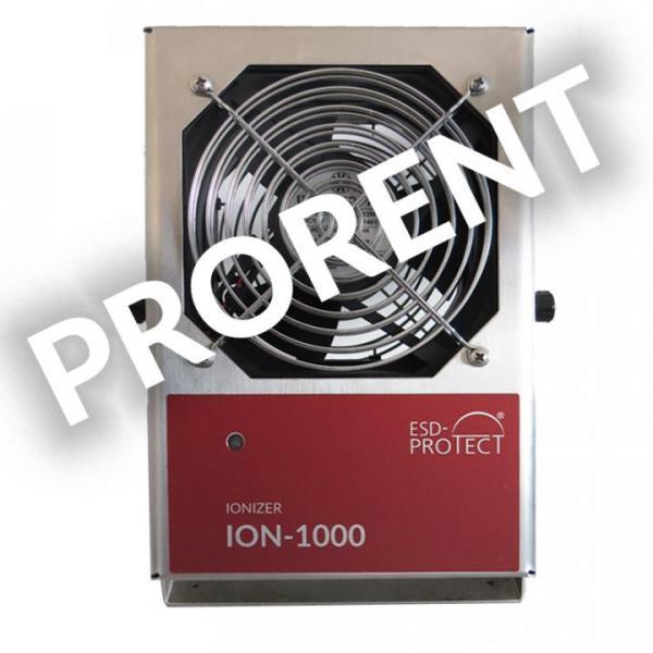 Rental device ION-1000 Zero-Volt ionizer