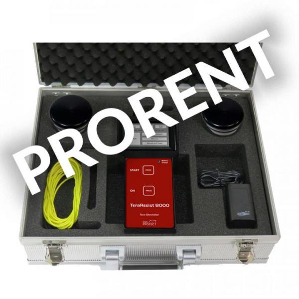 Rental device TERA-Ohmmeter TeraResist 8000 ME