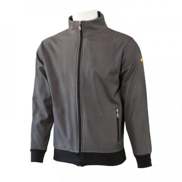 PROTEX® premium ESD-Twin-Lay jacket, gray-black