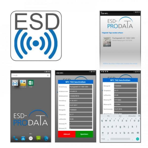 eLOGG, Softwarelösung zur ESD-Inventarverwaltung