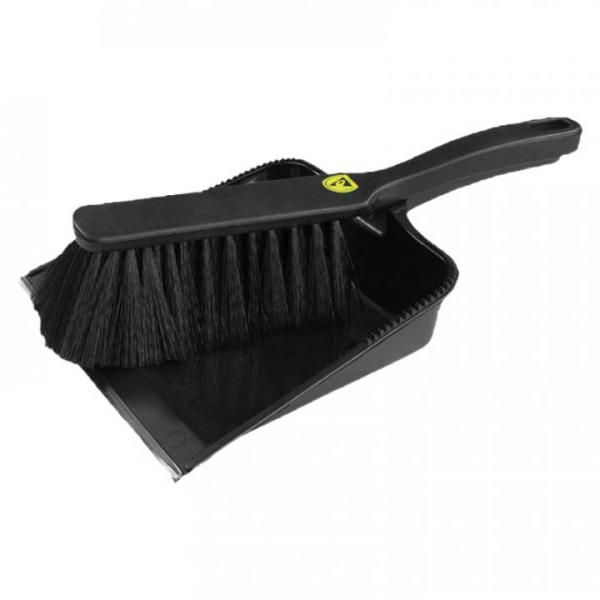 ESD-dust pan and brush set