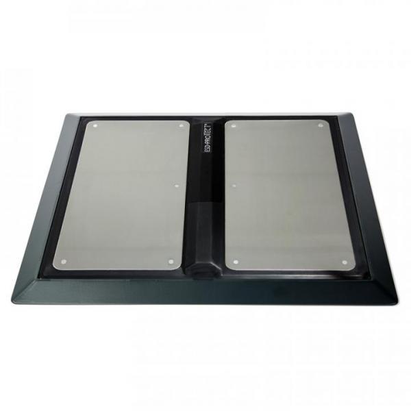 Rahmen für Fußelektrode EP0206003 mit Anlaufkante