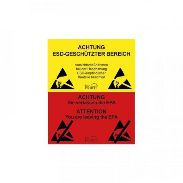 EP0601043 EPA-Warnschild und Ausgang DE und DE-EN 300x150