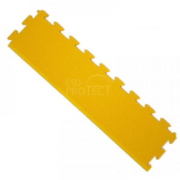 EP0502040 ESD-ProFloor PF 55 Rampenelement gelb kombinierbar mit ESD-Erdanschlussfliesen und Bodenpuzzlefliesen