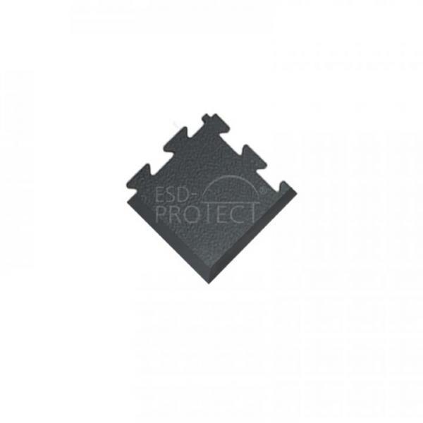 EP0502041 ESD-ProFloor PF 55 Eckstück dunkelgrau