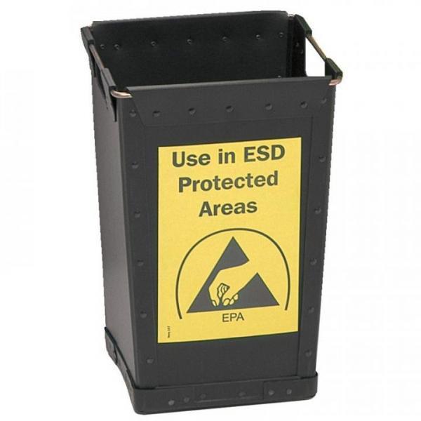 EP1203006 ESD-Abfallbehaelter ohne Deckel 25 l