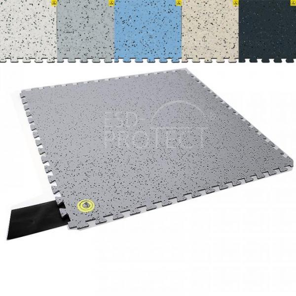 EP0502035 4 Gerflor Erdanschlussfliese mit DK 10 Anschluss Auswahl in verschiedenen Farben