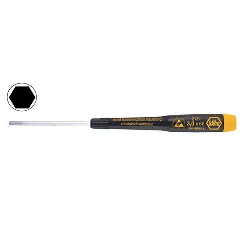 ESD Innensechskant-Schraubendreher 0.7 mm