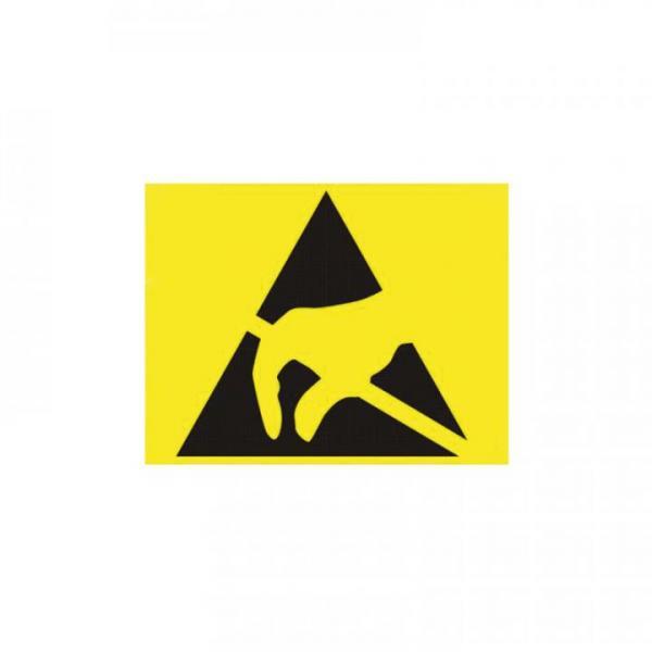 Paper ESD-logo, 7x9mm