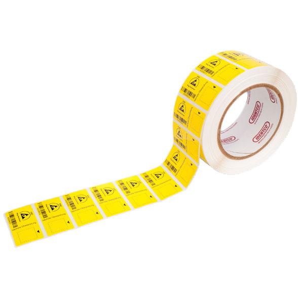 Barcode-Etiketten für Teraohmmeter EP-RM 4000