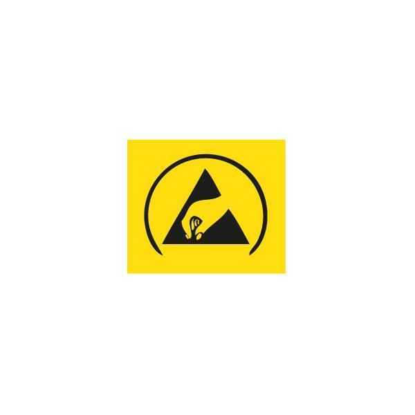 ESD-Symbol Warnaufkleber