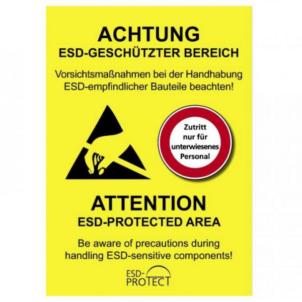 EP0601028 EPA-Hinweis Warnaufkleber DE-EN DIN A4