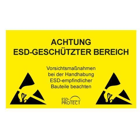 EP0601004 EPA-Warnschild DE Hartplastik 500x300 mm