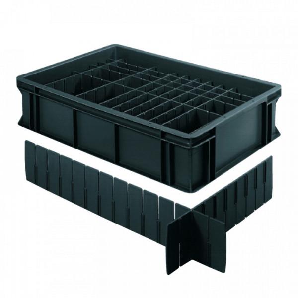 Trenneinsätze für BLACKLINE-Behälter