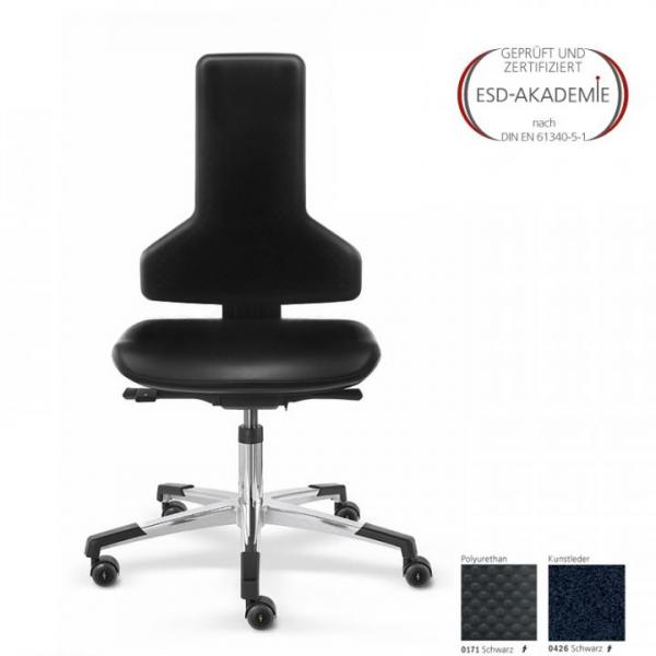 ESD-swivel chair ERGO PRO 800 ST-RR