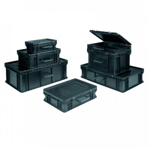 Koffer BLACKLINE, Außen 554 x 354 x 272mm