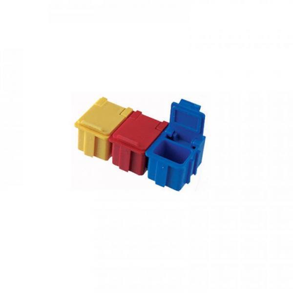 EP0710008 SMD Klappboxen N1 50 Stueck verschiedene Farbkombinationen