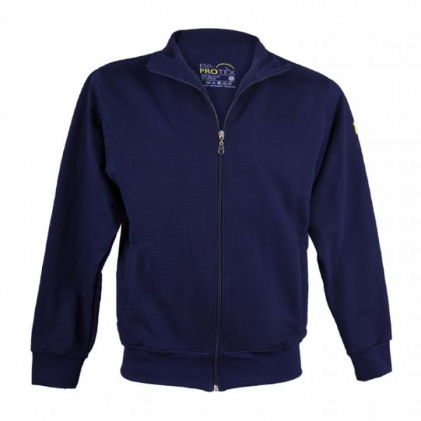 ESD-ProTEX Premium Sweatshirt-Jacke, marineblau