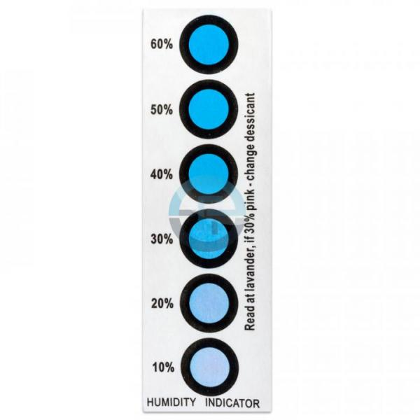 Humidity indicator 6 values, 10/20/30/40/50/60%