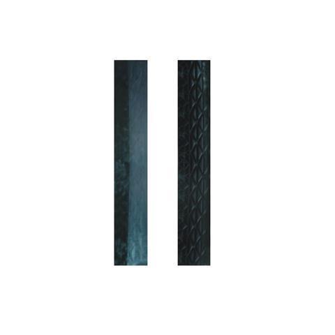 EP0502005 Rampenelement negative Zahnung schwarz