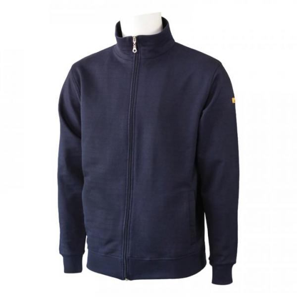 PROTEX® ESD-sweatshirt-jacket, unisex