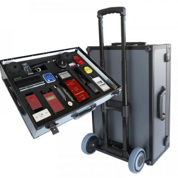 ESD-audit-case PRO TOM 8600 with trolley