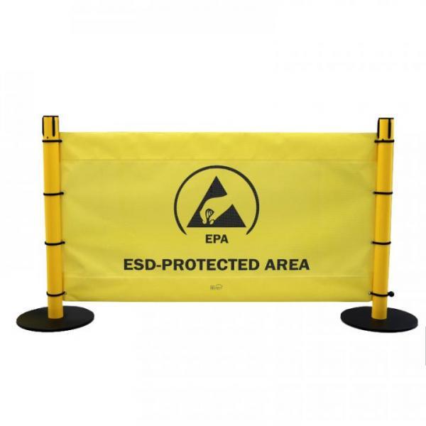 EP0605010 EPA-Banner zur sicheren Abgrenzung einer EPA-Zone