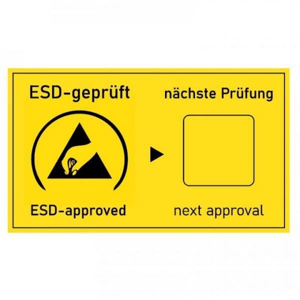 EP0602006 Pruefkennzeichnungsschild ESD-geprueft