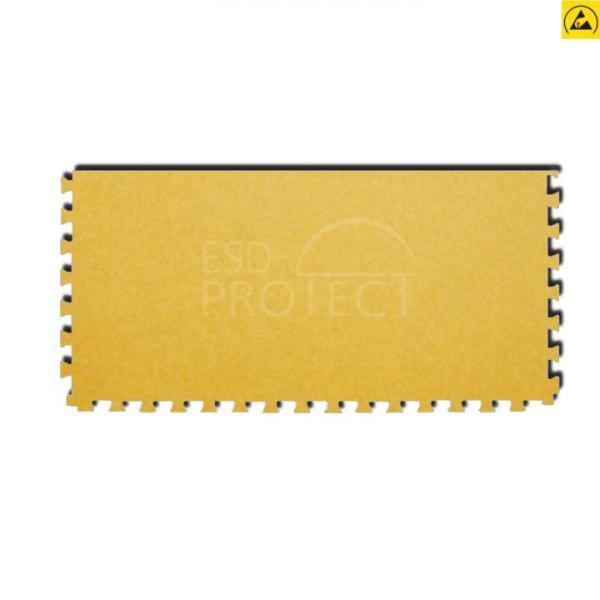 EP0502028 Gerflor ESD-Zugangsfliese GTI EL5 ACCESS gelb mit Schwalbenschwanz-Verzahnung