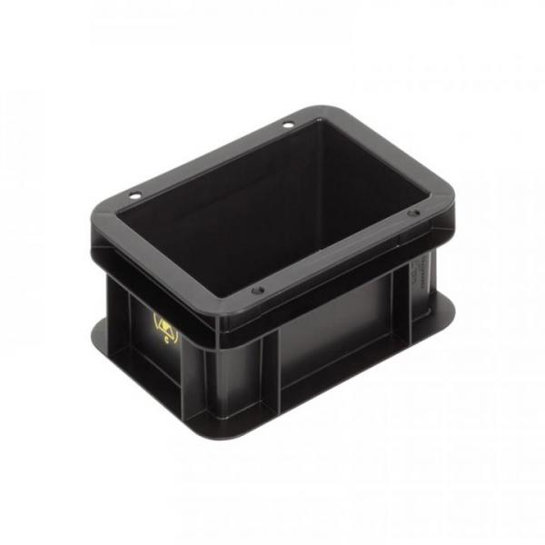 BLACKLINE stacking container, flat bottom
