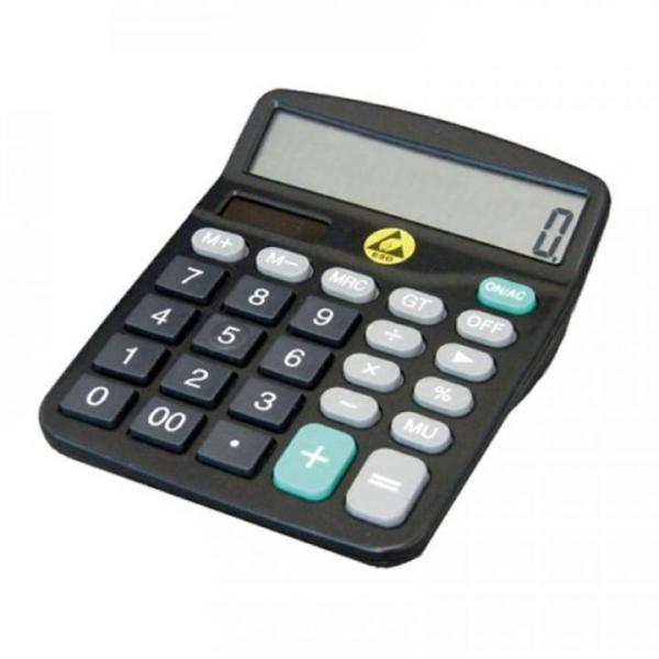 ESD-Taschenrechner, LCD, Batteriebetrieb